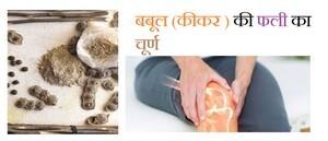 बबूल (कीकर ) की फली के घुटनों का दर्द पर प्रभाव और लोगो के अनुभव