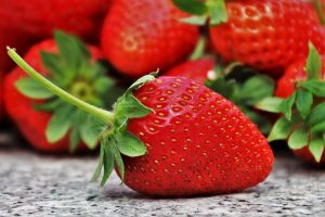 Strawberries fruit for diabetics